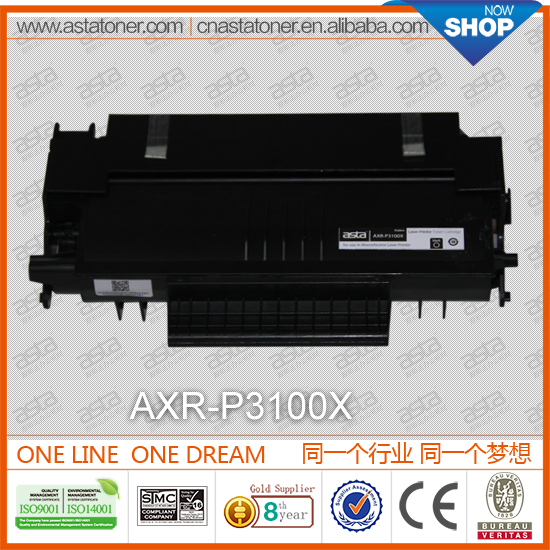 P3100X toner cartridge for xerox toner refill