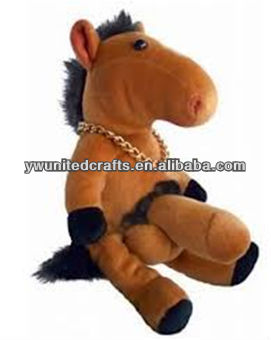 Fashion design lovely horse plush toy