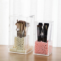 Hot sale cosmetic display plastic compartment storage box