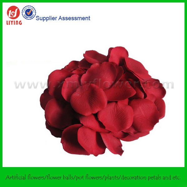 Wedding Artificial Silk Rose Petals