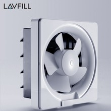 6 Inch Wall Mount Ventilation Fan Full Plastic Fan Grill Exhaust Fan