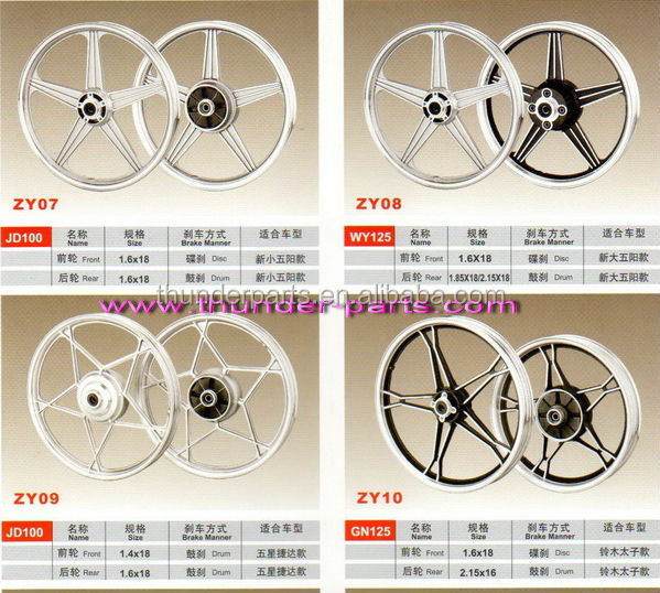 Motorcycle alloy wheel,Motorcycle aluminium wheels,wheel rim,parts for 125cc,150cc,200cc dirt bike,off road,150GY,200GY