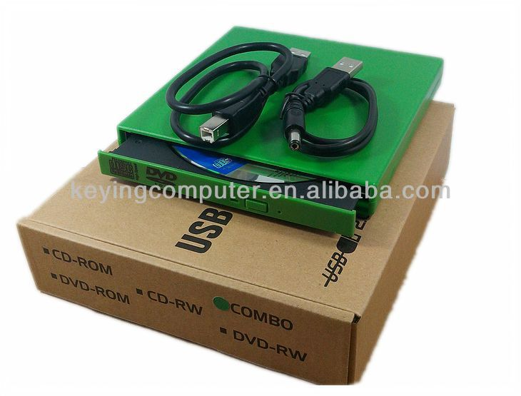 USB2.0 External Protable DVDRW CDRW Burner Drive