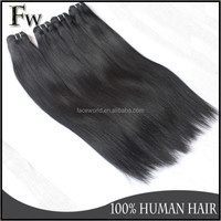 Uprocessed claw clip ponytail brazilian human hair extension