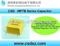 CSD-MPTB Series Low Noice 26db (max)60Hz MPTB Winding Machine Capacitor