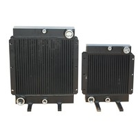 stainless steel fin UNIVERSAL concealed fan coil unit auxiliary radiator