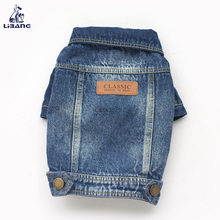 Hot Products Fashion Blue Jeans Denim Dog Jackets