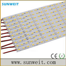 Newest 1m 5630 smd narrow white pcb aluminum rigid led strip bar from professional led strip manufacturer