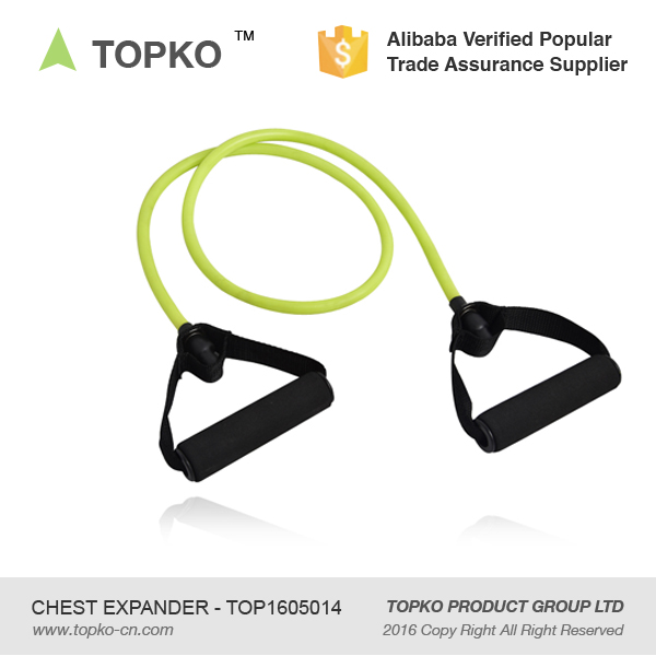 High quality 1-shape latex rope exercise latex spring chest expander