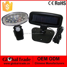 15 LED Solar PIR Light .15 LED Solar PIR Light Lamp Torch Panel Shed Rechargable .H0028