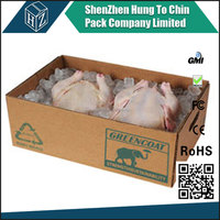 Durable and waterproof chicken packing box