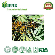 Manufacture supply lowest price Saw palmetto Extract, supply free sample Saw palmetto Extract 25%,45% fatty acids