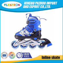 EN71 Hot Sale Wholesale Outdoor child Sports wheel Inline Skate shoes With LED Flashing