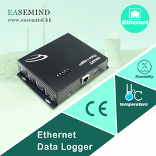 Temperature & Humidity wireless data logger ethernet power control