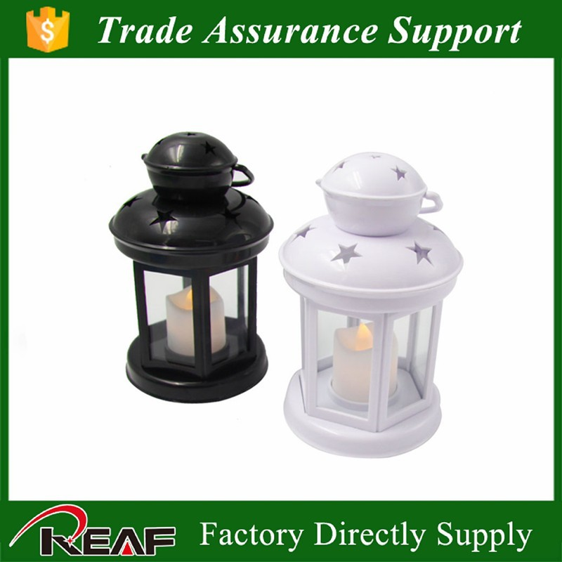 Classic home decoration plstic led lamping lantern light,plastic Chinese candle lantern wedding favors,hurricane lantern