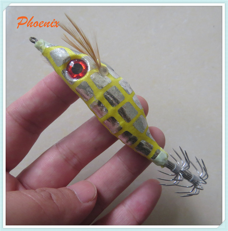 10cm colourful luminours squid jigs