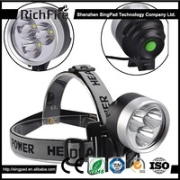 Wholesale Products Dynamo Led Bike Light and Rechargeable Zoom Led Headlamp