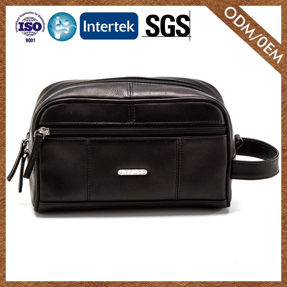 Factory Price New Product Custom Printing Logo Casual High Quality Men'S Toiletry Bag