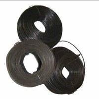 12 14 18 gauge black annealing wire iron rod/low price annealed binding wire
