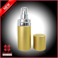 Classic luminous golden shades original atomizer refill pump spray
