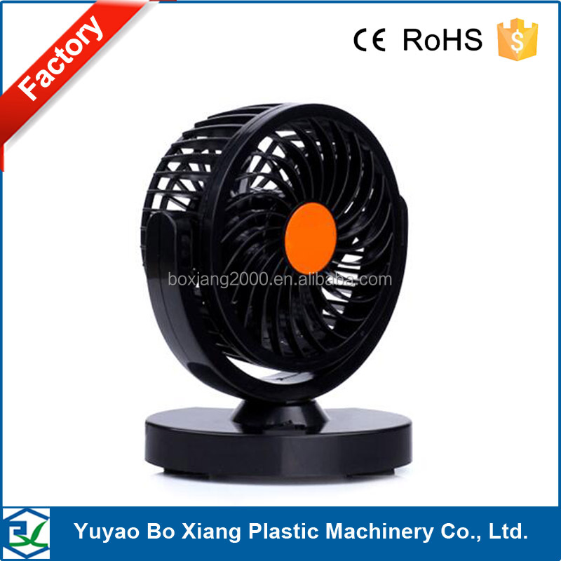 12V 24V Car Mini Electric Fan 360 Rotating Strong Wind Car Fan Car Air Conditioner Low Noise Portable Auto Air Cooling Fan
