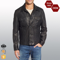 High Quality Custom Design Good-looking Leather Jacket for Men