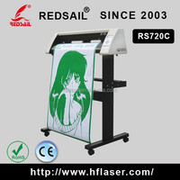 Reliable redsail brand sign vinyl cutting plotter RS720 with best value for sticker