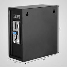 Updated Coin Operated Timer Control Power Supply Box to Control Electronic Device 220 V
