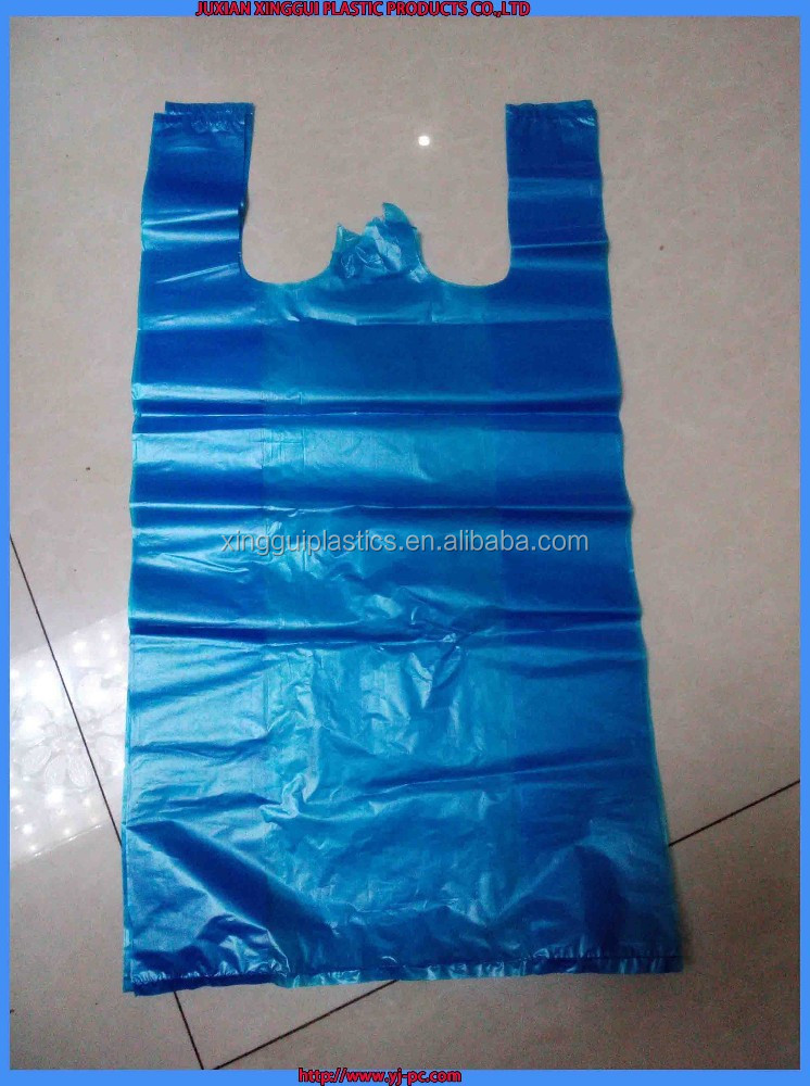 vacuum plastic bag for supermarket or shopping