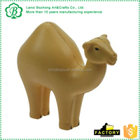 Main product workable price customized pu camel stress ball