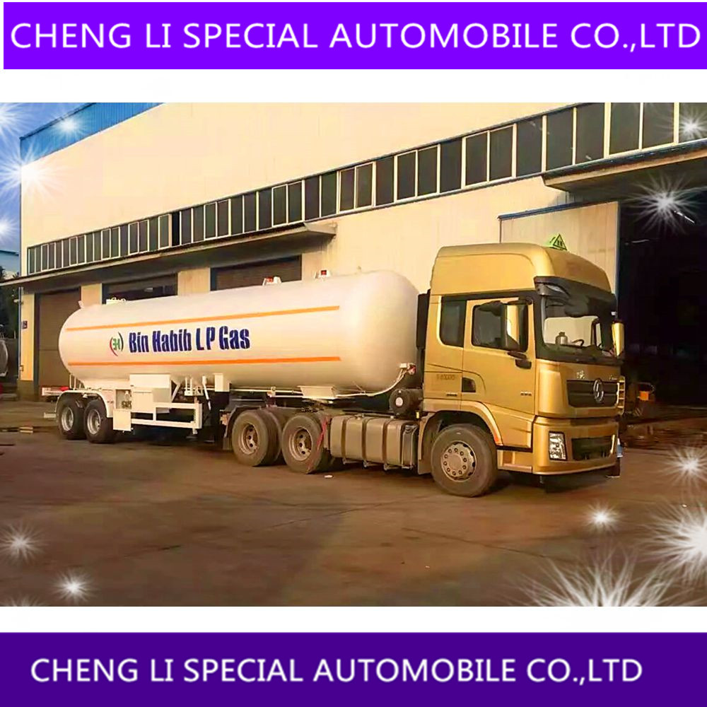 DONGFENG TRACTOR TRUCK 2 ALEXS LPG GAS TRAILER