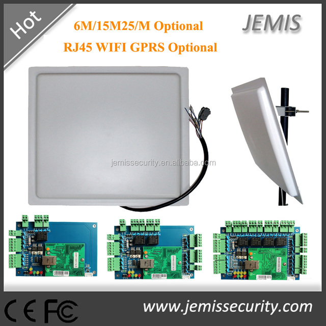 UHF/RFID Long distance rfid card reader with Metal case waterproof 0-15M to read