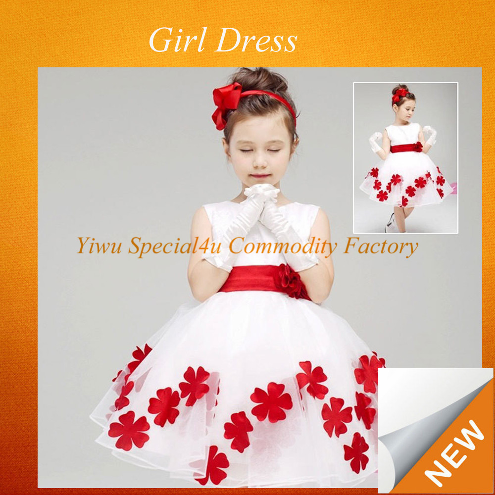 SPSY-181 High quality colorful children frock girl dress of 9 years old child dress