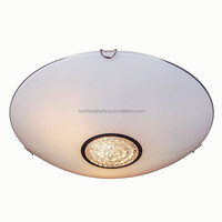 Home glass lighting of ceiling fixture