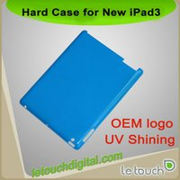 Matt Rubber Hard Case for New iPad/iPad 3