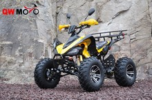 CE yellow electric start kawasaki style atv quad atv 250cc atv for adult