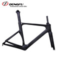 DENGFU new UD matt 700c di2 aero carbon road bike frame with BB86