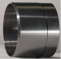 Tungsten carbide axle sleeve for oil mining equipment