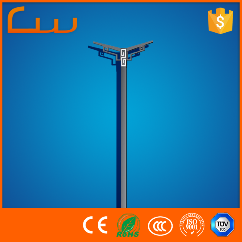 China Provide Lower Price Yard Lamp Post Parts 6m Outdoor Lighting Pole Buy