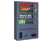 Up to 4 selection Well Mounted Snack and Drink Vending Machine for sale