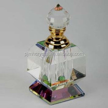 beautiful design custom made empty special crystal perfume bottle MH-XS0050