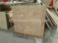 Marble Composite Panels in Golden Flower+Emperador Light