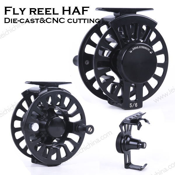 New design moderate price fly fishing reel