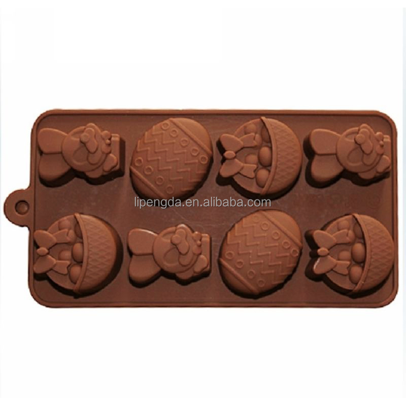 Hot sell useful metal cake mold cute shape silicone pan cake maker