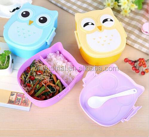 Plastic Snack Lunch Boxes Sandwich Food Storage Box