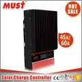 CE Rohs certificated 12V 24V 48V MPPT solar battery charge controller in solar system