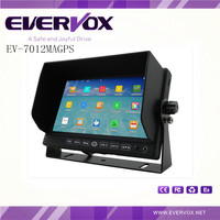 EV-7012MGPS: 7 inch tft built-in GPS car monitor with Bluetooth 4.0 optional