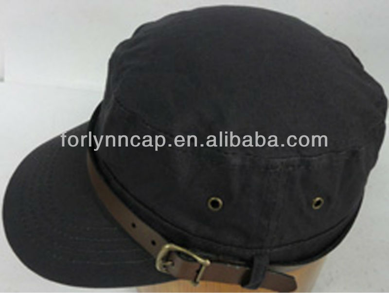 Ladies military style fashion hat