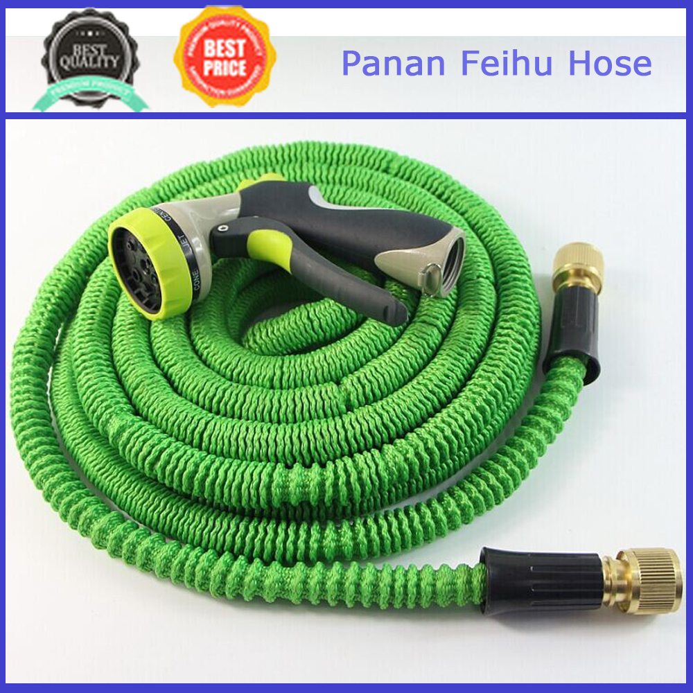 100' Expanding Hose, Strongest Expandable Garden Hose on the Planet,Double Latex Core