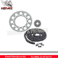 OEM motorcycle chain and sprocket sets with high quality